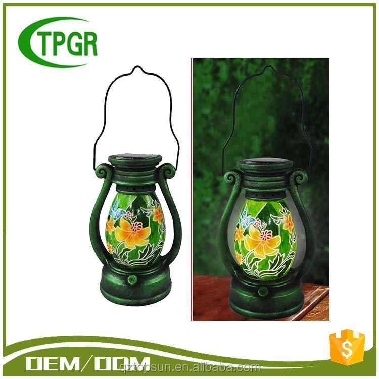 New Premium Arts And Craft Butterfly Solar Lantern Led Garden Light