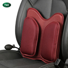 High Density Memory Foam Filling Car Lumbar Back Cushion with Gasbag Cushion Pad