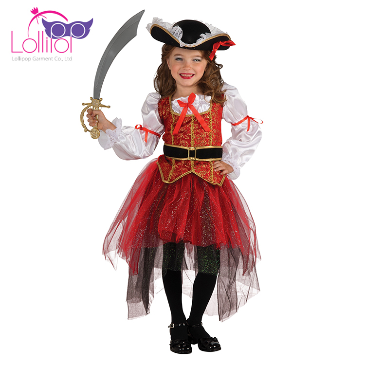 Halloween carnival costume kids cosplay pirate costume for boys