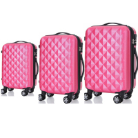 High quality us polo luggage prices with wheels travel box