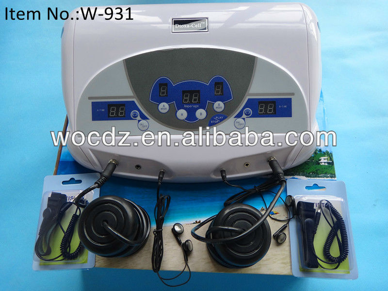 Ion/ionizer cleanse foot detox machine ,detox ion foot spa, foot cleaner