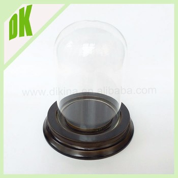 Large Dome 10 Inches Tall Cloche For Collectible Microwave Plate Decorative Mini Gl Top Stove