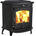 cast iron indoor wood burning stove with water boiler, factory directly supply WM701B