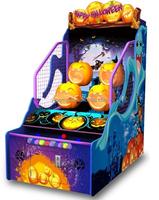 Happy Halloween mini redemption prize machine push n win redemption game