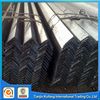black hot rolled carbon mild astm a36 q235 ss400 steel angle angle steel /iron angle / angel bar