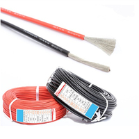 200m/roll Silicon insulated tinned copper flexible stranded 18 awg 18 gauge silicone wire