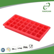 Wholesale 32-Cavity 100% Food Grade Silicone Square Ice Cube Tray