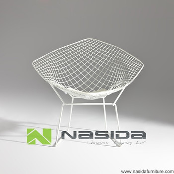CH117 Harry Bertoia Diamond Wire Lounge Chair