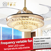 Low consumption and energy saving 42inch led ceiling fans