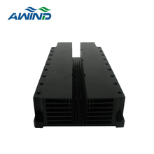 Factory price black extrusion aluminum heat sink for LED