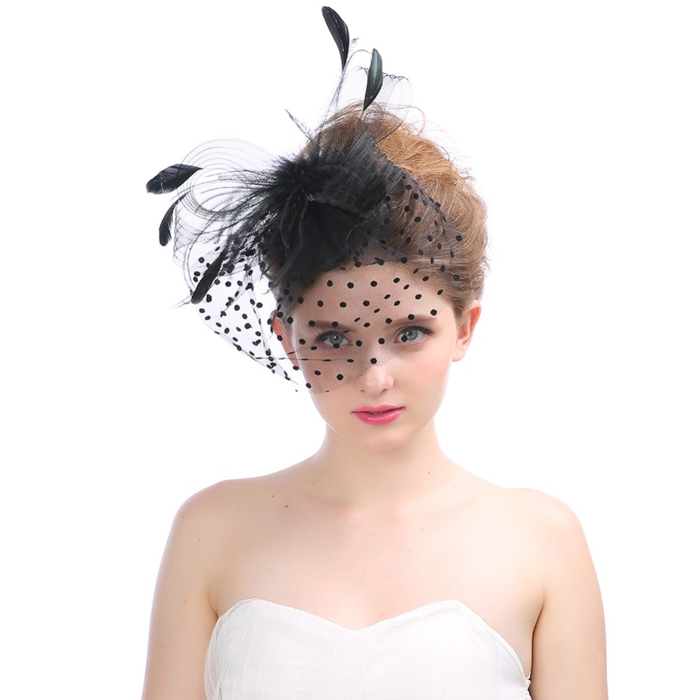 Quality workmanship outdoor summer wedding perfect accessory mesh hat fascinator