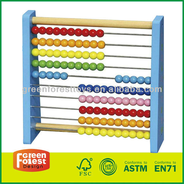 Wood Counting Rack
