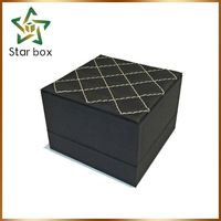 Gorgeous fabric ring box, ring jewelry boxes and ring display cases