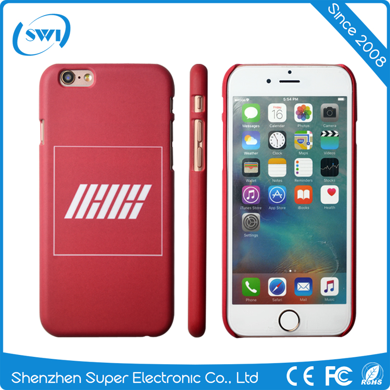 Mobile Accessories PC Sublimation Printing Frosted Smartphone Case Cover for iPhone 6/6s Plus