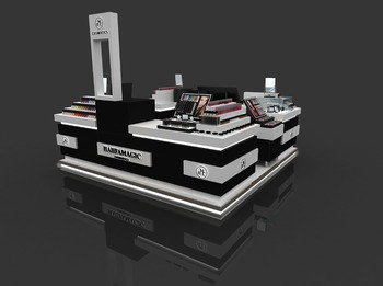 Wholesale China Flooring Cabinet Case Mac Makeup - Buy Wooden ...
