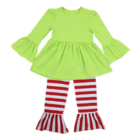 2016 kaiyo toddler Christmas OEM service carters baby clothes china girls photos without dress boutique outfits