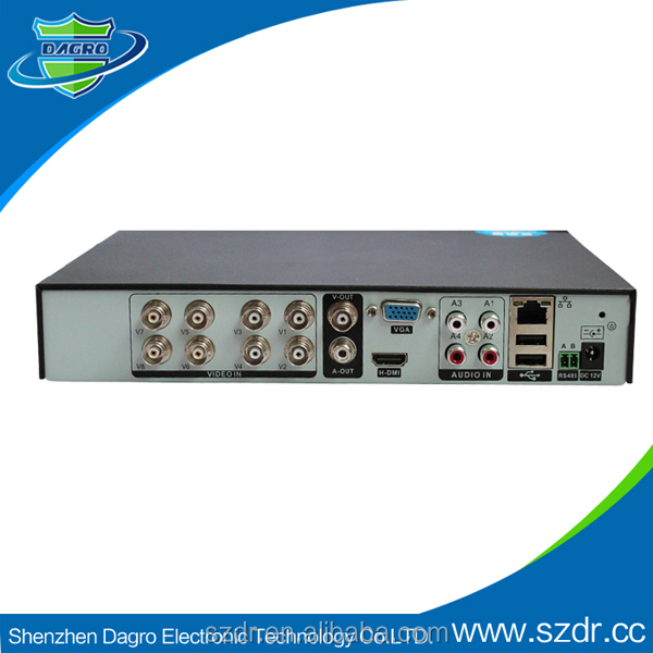 H.264 Network DVR TF Card 8Channel Camera HD Mobile Phone Mini DVR Camera DVR H.264 CMS Free Software New Production For 2014