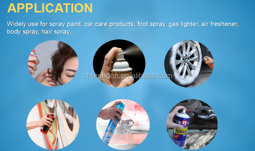 factory supply empty aerosol tin can for shoe care