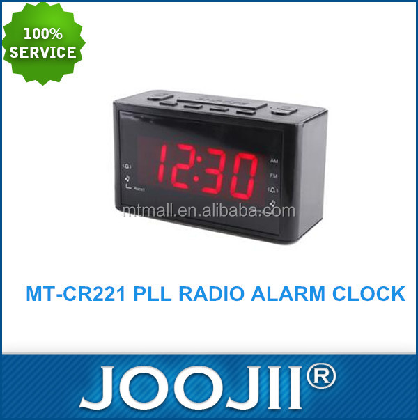 hotel alarm clock radio/alarm clock radio mp3 usb/radio alarm clock