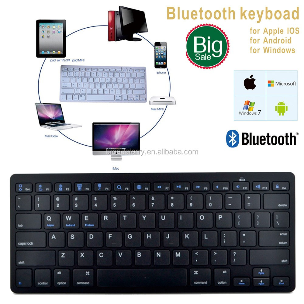 for apple ipad air2 ipad pro android tablet samsung tablet Bluetooth Keyboard