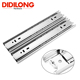 Kitchen cabinet accessories 45mm telescopic ball bearing dining table slide rail