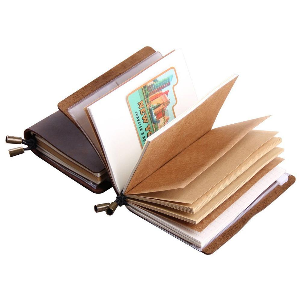 Vintage Leather Journal โน๊ตบุ๊ค Notebook หนัง B5 Diary