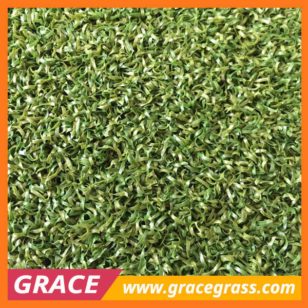 two tones Nylon Artificial Grass for Golf Putting Green Carpet