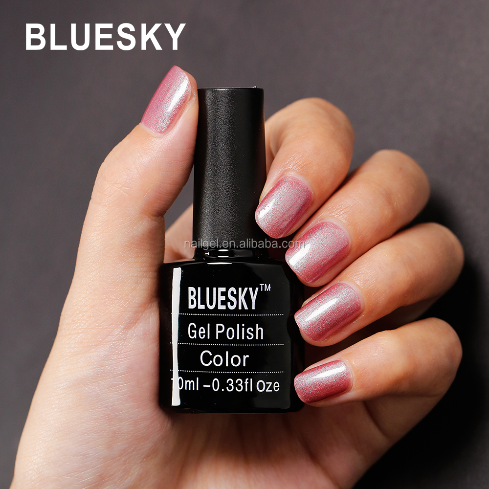 Bluesky nail gel polish new 80625 color uv gel free samples nail arts design