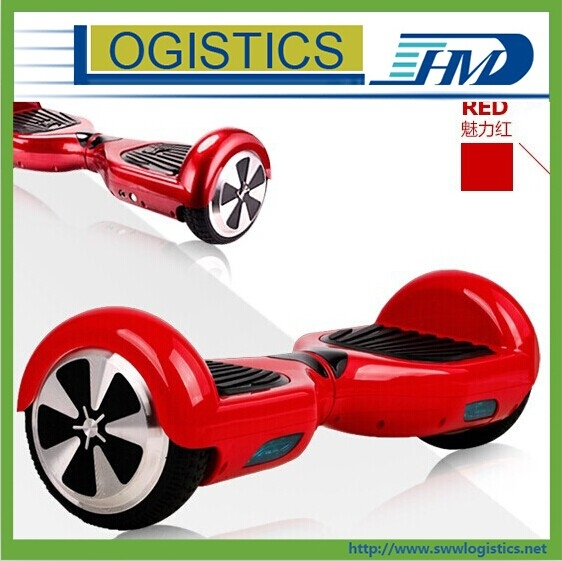 Proffessional two wheel scooter air freight to United States