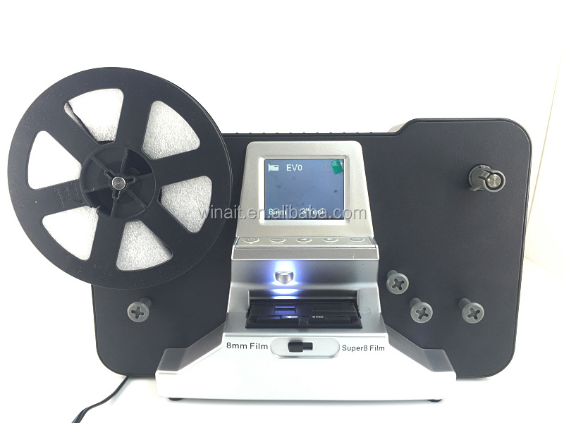 winait rouleau film scanner super 8 8mm rouleau film. Black Bedroom Furniture Sets. Home Design Ideas