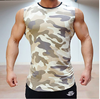 High quality Men's gym singlets &stretchy muscle sleeveless shirts indoor bodybuilding fitness gym clothing