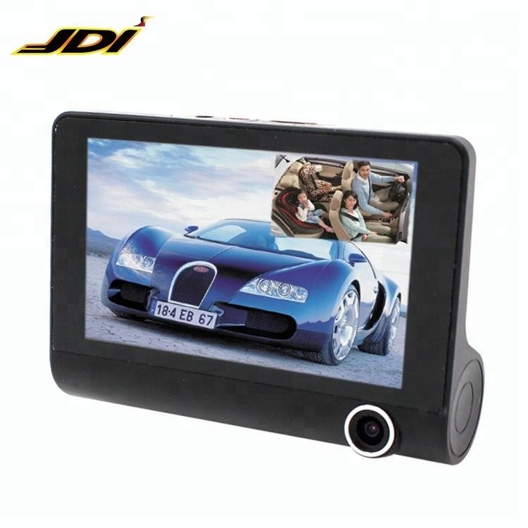 JDI-JIN-83 Wide Angle Camera 4.0 Inch Car Dvr Fhd 1080p Video Recorder Three Lens