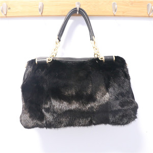 8c0326a918 New Arrival Fashion Factory Price Real Mink Fur Lady Handbag