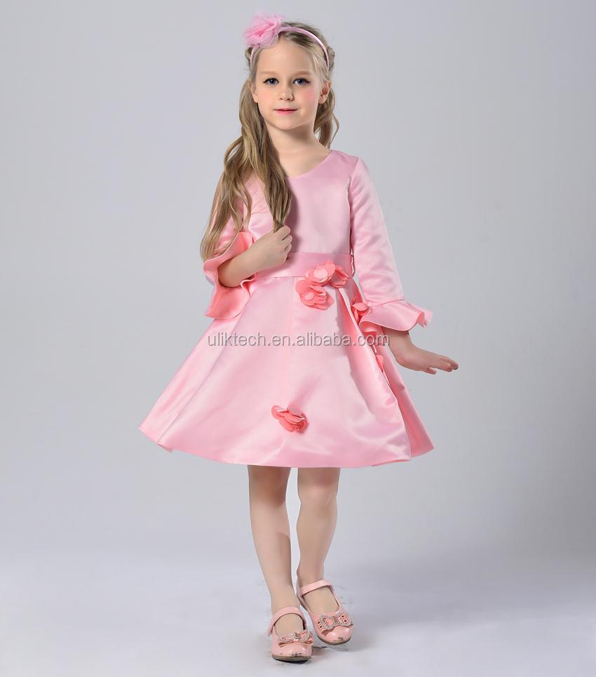 Estilo Europeo niñas calidad elegante vestido de fiesta envío libre ...