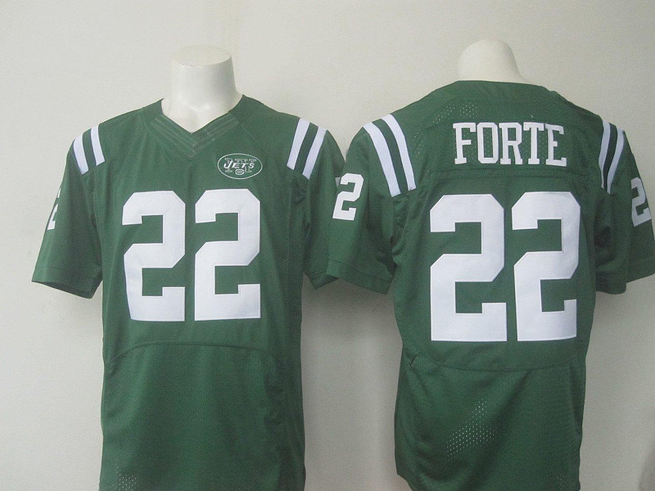abc6b76249d Get Quotations · New York Mens Jets Football Jersey #22 Matt Forte