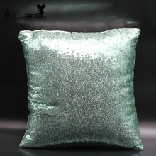 More new style sand mermaid pillow sequin