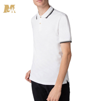 Wholesale Made in China White Cotton Polo Shirt Men's Blank