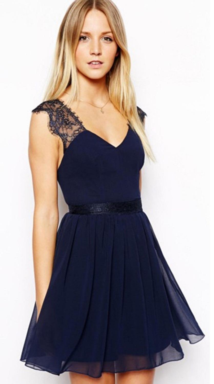 top robes blog robe pour mariage bleu marine. Black Bedroom Furniture Sets. Home Design Ideas