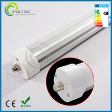 Standard USA FA8 Single Pin 8FT 8 feet T8 Led Light Tubes Led Fluorescent Tube Light 40W FA8