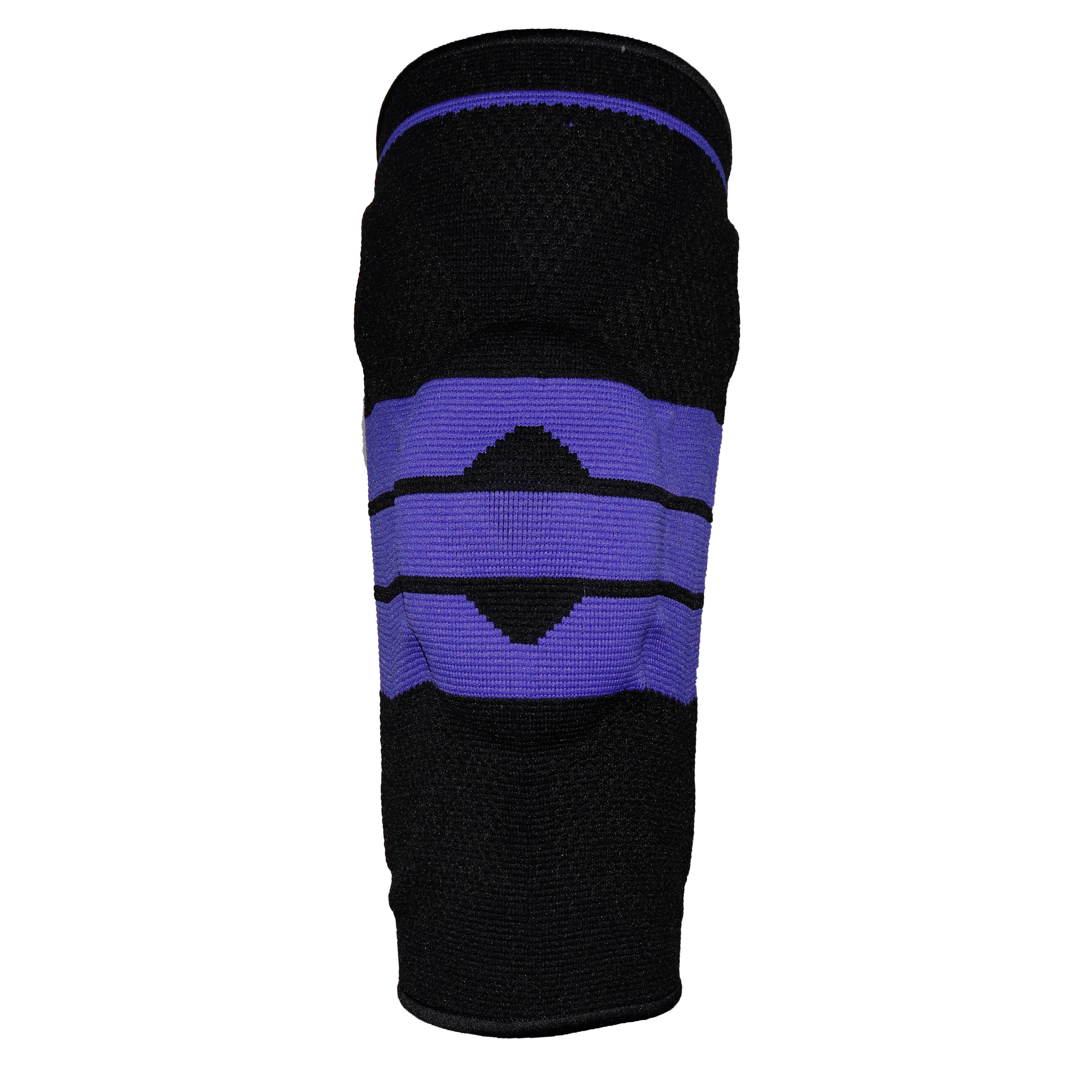 Knee Compression Sleeve - Best Knee Brace with Side Stabilizers & Patella Gel Pads for Knee Support, Black