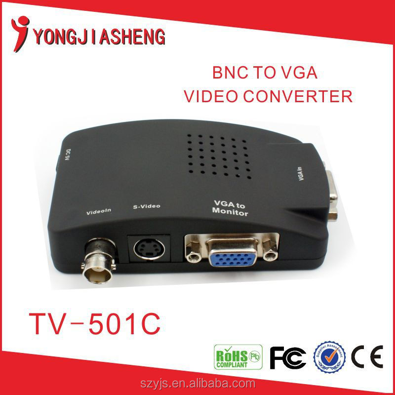 The lowest price S-Video & BNC/RCA To VGA Converter