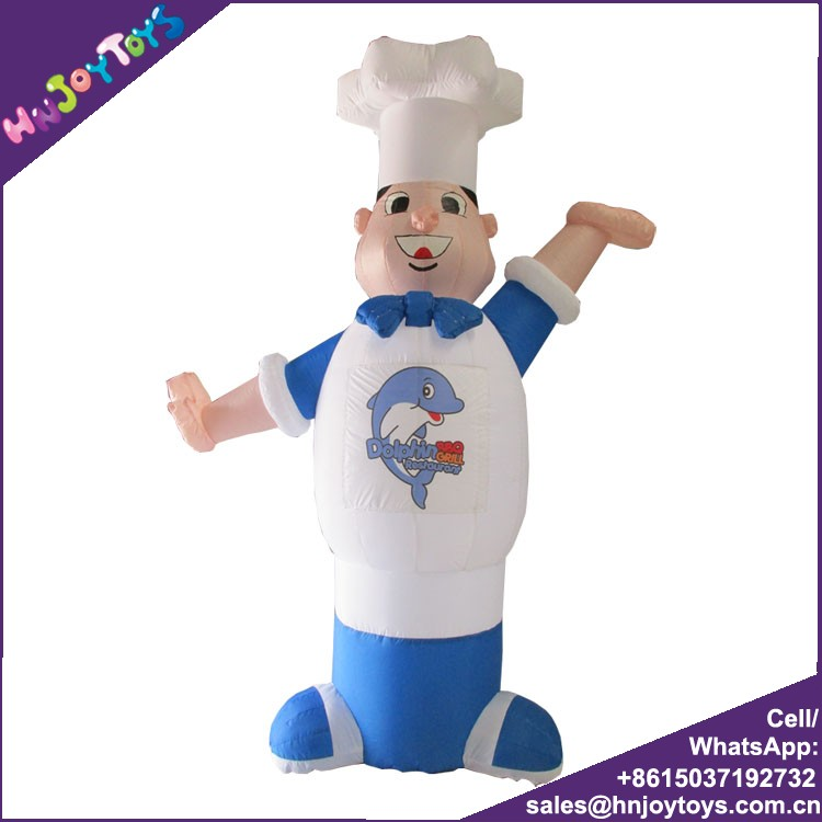 Outdoor Portable Cook Model Advertising Inflatables For Sale