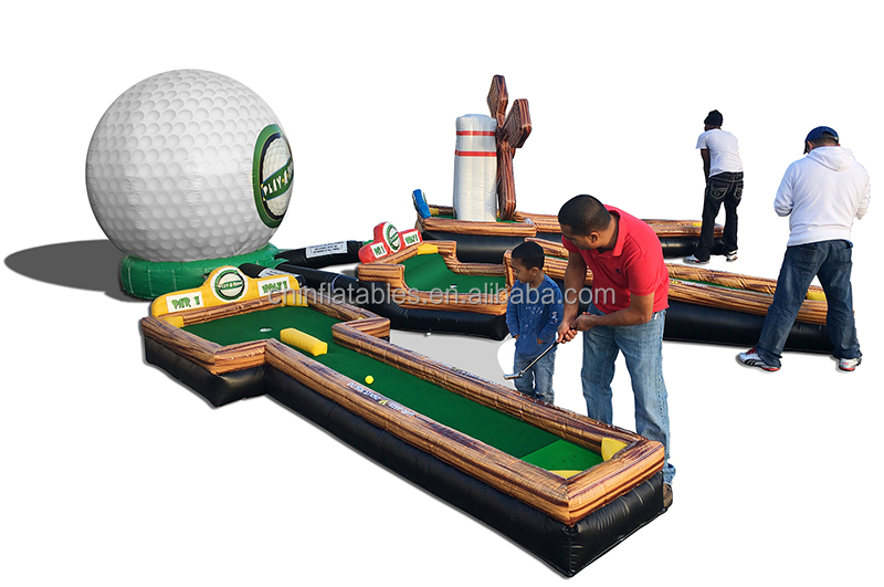INFLATABLE MINI GOLF/new design inflatable mini golf
