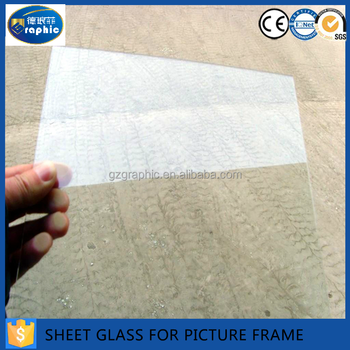 1-3mm Thick Clear Pre Cut Glass For Frames / Sheet Glass - Buy Pre ...