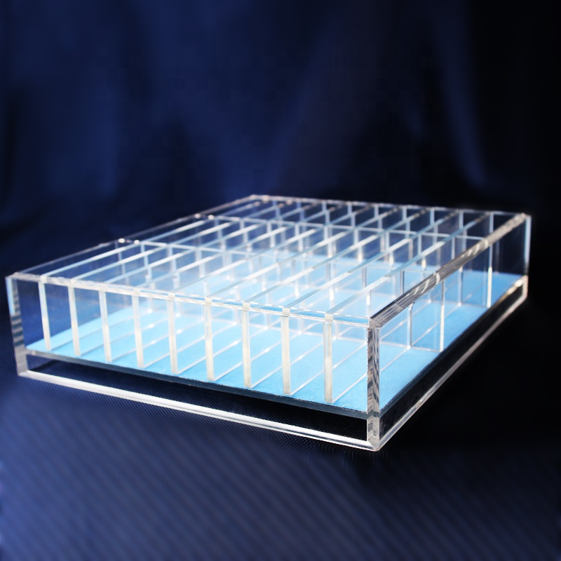 11 divider 5 미리메터 아크릴 보석 Pallet/jewelry display tray