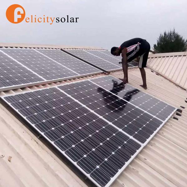 מצטיין ייצור חשמל סולארי 3000 w מחיר מערכת האנרגיה סולארית עבור ליבריה HO-34