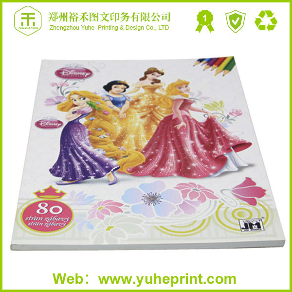 High grade advertising wholesale popular paper printing service cheque/bill of lading /courier bill book printing