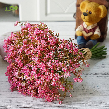 Cheap Wholesale Beautiful Pink Artificial Flower Natural Touch Night Bouquet of Nebula