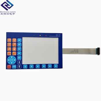 Custom LCD Display PET/PC Keypad Push Button Membrane Switch With 3M adhesive