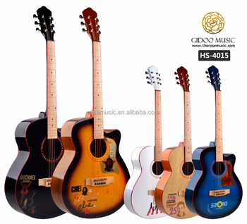 hs4015 40 inch fashionable design pickguard acoustic guitar made in china beatles acoustic. Black Bedroom Furniture Sets. Home Design Ideas